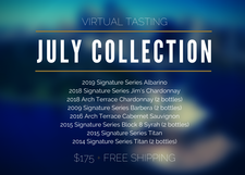 Virtual Tasting Collection | July