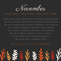 Virtual Tasting Collection | November